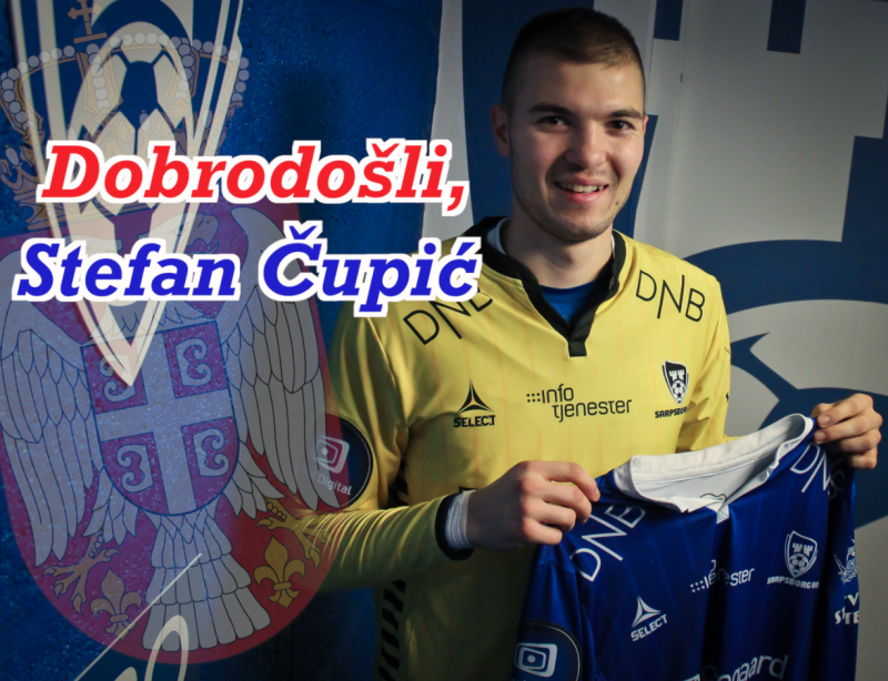 Welcome, Stefan Cupic