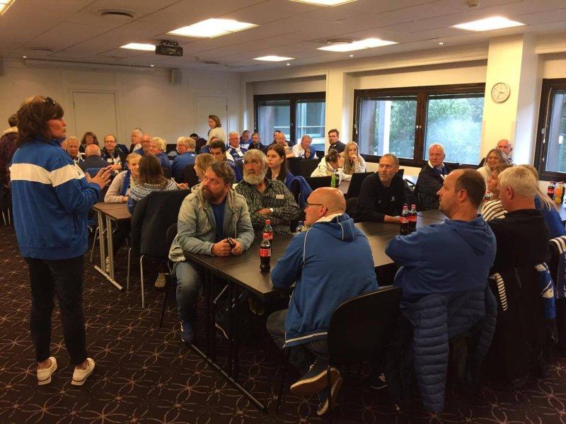 STOLT: Tone M. Karlsen er stolt av klubbens mange frivillige. (Foto: Pål Martin K. Wernersen)