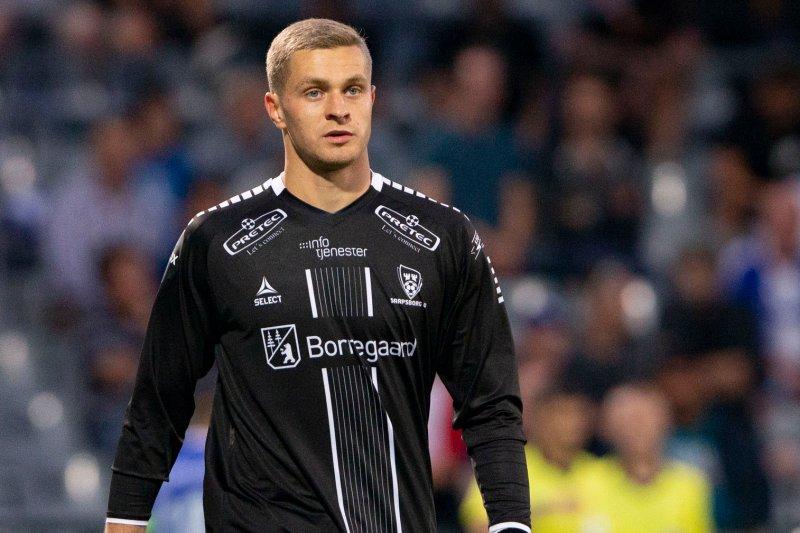 DEBUTEN: Vasyutin fra sin første kamp for 08 - mot St. Gallen.