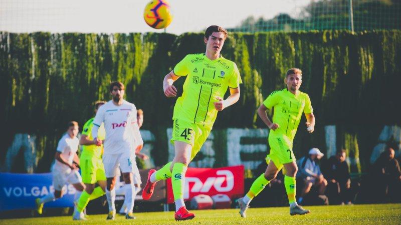 MÅLSNIK: Jørgen Strand Larsen vet å jage de rette ballene foran mål. (Foto: Alexander Klaussen)