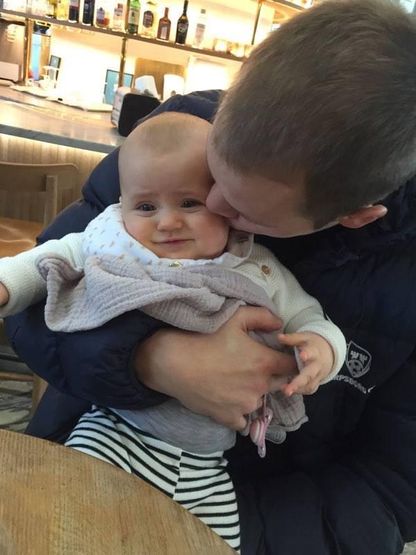 NYBAKT FAR: Matti Lund Nielsen ble far i 2016. (Foto: Privat)