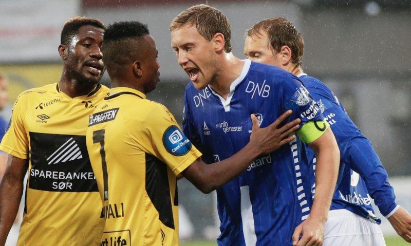 LEDERTYPE: Kaptein! Ingen i Sarpsborg 08 har vært i tvil om hvor de har hatt Ole Heieren Hansen. En fantastisk støttespiller både på og utenfor banen.