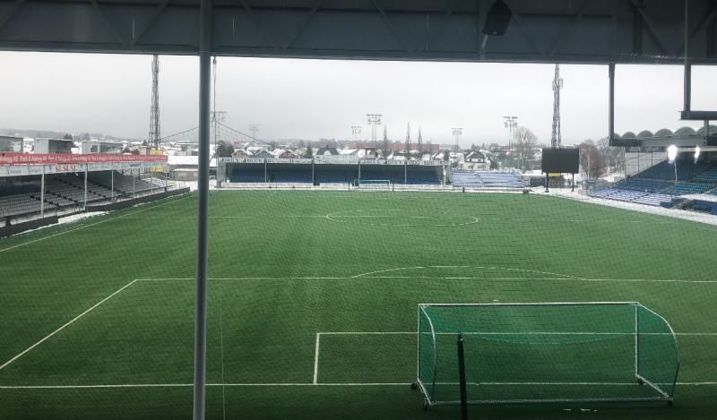 UTSIKT: Bildet er tatt fra det som blir det nye VIP-området på Stadion. Her får du oversikten du trenger.
