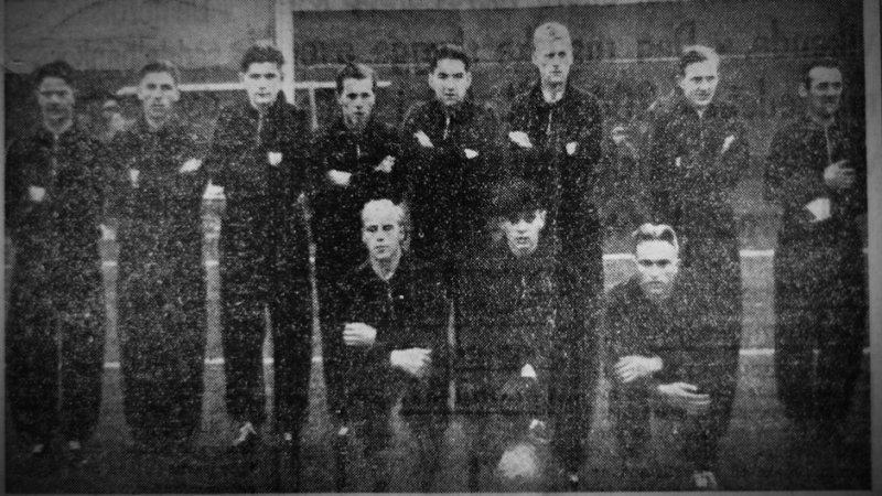 SFKs vinnerlag fra 1939. (Faksimile: Tidens tegn)